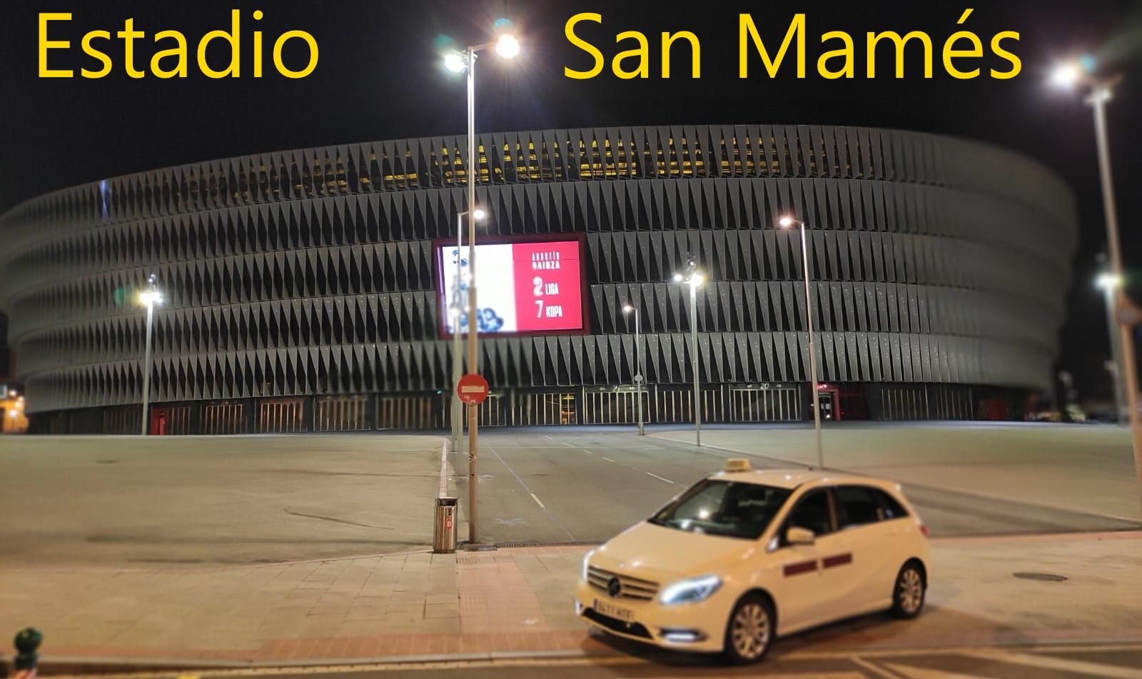 taxi  San Mamés
